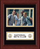 The National Beta Club Photo Frame - Lasting Memories Banner Photo Frame in Sierra