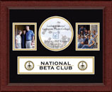The National Beta Club Photo Frame - Lasting Memories Banner Collage Photo Frame in Sierra
