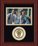 The National Junior Beta Club Photo Frame - Lasting Memories Circle Logo Photo Frame in Sierra