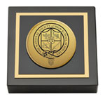 The National Society of High School Scholars Paperweight - Gold Engraved Medallion Paperweight