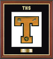 Trumbull High School in Connecticut Varsity Letter Frame - Varsity Letter Frame in Newport