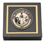 The University of Alabama Tuscaloosa Paperweight  - Masterpiece Medallion Paperweight