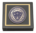 East Carolina University Paperweight  - Masterpiece Medallion Paperweight