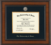 The University of Iowa Diploma Frames