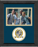 National Honor & Merit Scholars Society Photo Frame - Lasting Memories Circle Logo Photo Frame in Arena