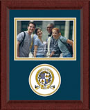 National Honor & Merit Scholars Society Photo Frame - Lasting Memories Circle Logo Photo Frame in Sierra