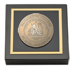 Macalester College Paperweight - Masterpiece Medallion Paperweight