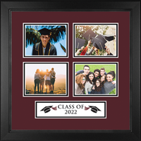 Class Of Lasting Memories Photo Frames Photo Frame - 'Class of' Quad Collage Photo Frame in Arena