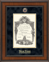 United States Military Academy Diploma Frame - Masterpiece Medallion Diploma Frame in Madison