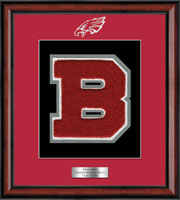 Beekmantown High School in New York Varsity Letter Frame  - Varsity Letter Frame in Southport