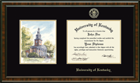 University of Kentucky Diploma Frame - Campus Scene Edition Diploma Frame in Brentwood