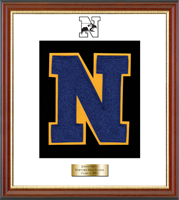 Newtown High School in Connecticut Varsity Letter Frame - Varsity Letter Frame in Newport