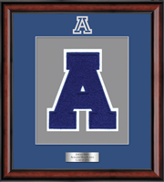 Acalanes High School in California Varsity Letter Frame - Varsity Letter Frame in Southport