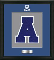 Acalanes High School in California Varsity Letter Frame - Varsity Letter Frame in Omega