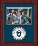 Princeton Academy of the Sacred Heart Photo Frame - Lasting Memories Circle Logo Photo Frame in Sierra