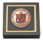 Virginia Polytechnic Institute and State University Paperweight  - Masterpiece Medallion Paperweight