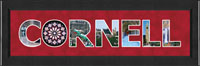 Cornell University Photo Frame - Cornell Letter Frame in Arena