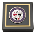 College of the Holy Cross Paperweight - Masterpiece Medallion Paperweight