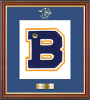 Brookfield High School in Connecticut Varsity Letter Frame - Varsity Letter Frame in Newport