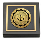 Hope College Paperweight  - Gold Engraved Medallion Paperweight