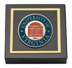 University of Virginia Paperweight - Masterpiece Medallion Paperweight