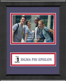 Sigma Phi Epsilon Photo Frame - 4' x 6' - Lasting Memories Banner Photo Frame in Arena