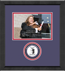 Sigma Phi Epsilon Photo Frame - 5' x 7' - Lasting Memories Circle Logo Photo Frame in Arena