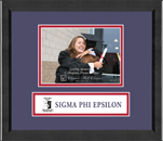 Sigma Phi Epsilon Photo Frame - 5' x 7' - Lasting Memories Banner Photo Frame in Arena