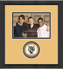 Sigma Nu Photo Frame - 5' X 7 - 'Lasting Memories Circle Logo Photo Frame in Arena