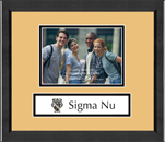 Sigma Nu Photo Frame - 5' x 7' - Lasting Memories Banner Photo Frame in Arena