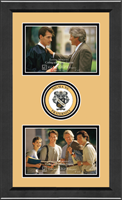 Sigma Nu Photo Frame - Lasting Memories Double Circle Logo Photo Frame in Arena