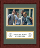Norfolk State University Photo Frame - Lasting Memories Banner Photo Frame in Sierra