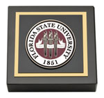 Florida State University Paperweight - Masterpiece Medallion Paperweight