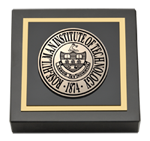 Rose Hulman Institute of Technology Paperweight  - Masterpiece Medallion Paperweight