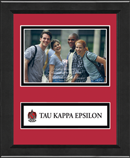 Tau Kappa Epsilon Photo Frame - 4' x 6' - Lasting Memories Banner Photo Frame in Arena
