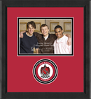 Tau Kappa Epsilon Photo Frame - 5' x 7' - Lasting Memories Circle Logo Photo Frame in Arena