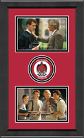 Tau Kappa Epsilon Photo Frame - Lasting Memories Double Circle Logo Photo Frame in Arena