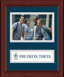 Phi Delta Theta Photo Frame - 4' x 6' - Lasting Memories Banner Photo Frame in Sierra