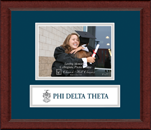 Phi Delta Theta Photo Frame - 5' x 7' - Lasting Memories Banner Photo Frame in Sierra