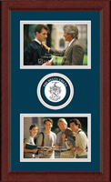 Phi Delta Theta Photo Frame - Lasting Memories Double Circle Logo Photo Frame in Sierra