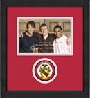 Theta Chi Photo Frame - 5' x 7' - Lasting Memories Circle Logo Photo Frame in Arena