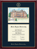Salve Regina University  Diploma Frame - Overly Campus Scene Edition Diploma Frame in Galleria