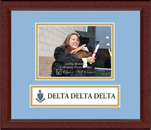 Delta Delta Delta Photo Frame - 5' x 7' - Lasting Memories Banner Photo Frame in Sierra