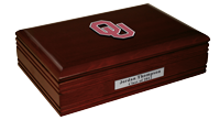 The University of Oklahoma Desk Box  - Spirit Medallion Desk Box