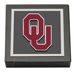 The University of Oklahoma Paperweight - Spirit Medallion Paperweight