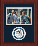 Sierra Nevada College Photo Frame - Lasting Memories Circle Logo Photo Frame in Sierra