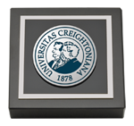 Creighton University Paperweight  - Pewter Masterpiece Medallion Paperweight