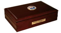 Pepperdine University Desk Box  - Masterpiece Medallion Desk Box