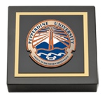 Pepperdine University Paperweight  - Masterpiece Medallion Paperweight