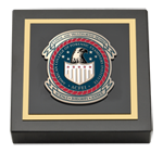 American College of Forensic Examiners Institute Paperweight - Masterpiece Medallion Paperweight
